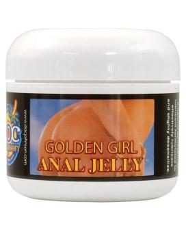 Golden Girl Anal Jelly - 2 oz