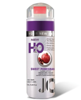 System JO H2O Flavored Lubricant - 5.25 oz Pomegranate
