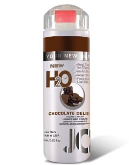 System JO H2O Flavored Lubricant - 5.25 oz Chocolate