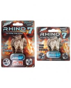 Rhino 7 5000 - 1 Capsule Blister