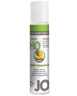 System JO H2O Flavored Lubricant - 1 oz Pineapple