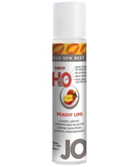 System JO H2O Flavored Lubricant - 1 oz Peach