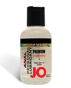 System JO Warming Anal Personal Lubricant - 2.5 oz
