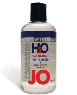 System JO H2O Warming Lubricant - 8 oz
