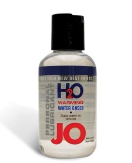 System JO H2O Warming Lubricant - 2.5 oz