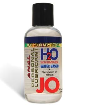 System JO Warming Anal H2O Lubricant - 4.5 oz