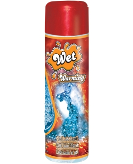 Wet Warming Intimate Waterbased Personal Lubricant - 3.7 oz Bottle