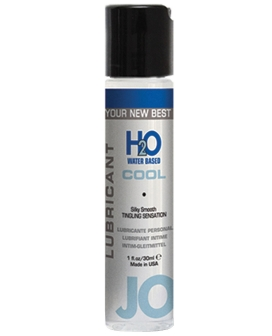 System JO H2O Lubricant - 1 oz Cooling