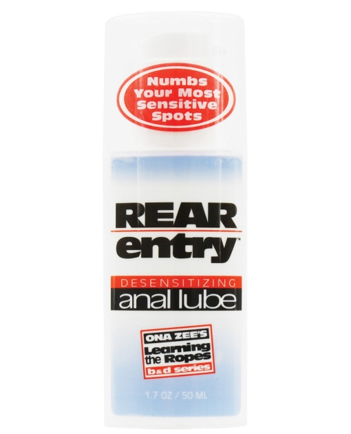 Rear Entry Desensitizing Anal Lube - 1.7 oz
