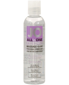 System JO All In One Massage Glide - 4 oz Lavender