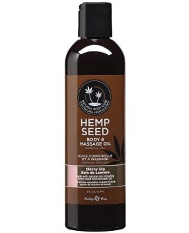 Earthly Body Massage & Body Oil - 8 oz Skinny Dip