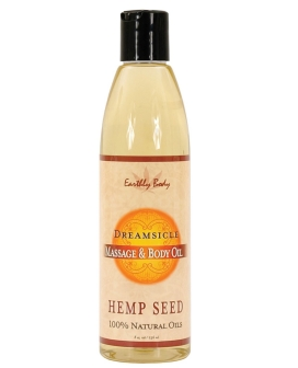 Earthly Body Massage & Body Oil - 8 oz Dreamsicle