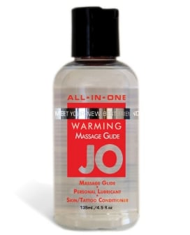 System JO All In One Massage Glide - 4 oz Warming