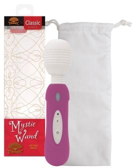 Vibratex Mystic Wand Massager - Hot Pink