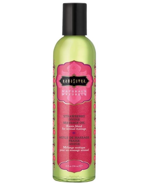 Kama Sutra Naturals Massage Oil - Strawberry