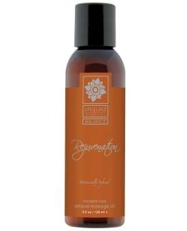 Sliquid Organics Massage Oil - 4.2 oz Rejuvenate