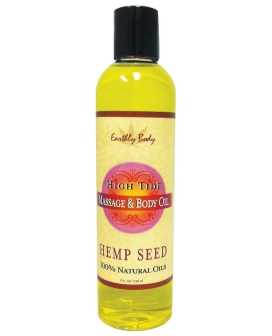 Earthly Body Massage & Body Oil - 8 oz High Tide