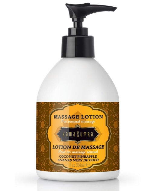 Kama Sutra Massage Lotion - Coconut Pineapple