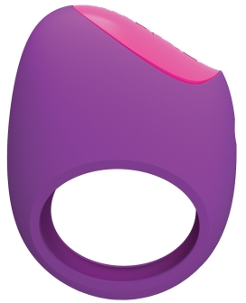 Pico Bong by LELO Remoji Lifeguard Ring Vibe - Purple