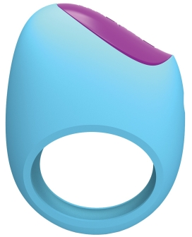 Pico Bong by LELO Remoji Lifeguard Ring Vibe - Blue