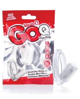Screaming O Q Vibe Ring - Clear