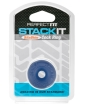Perfect Fit Stackit Cock Ring - Blue