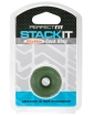 Perfect Fit Stackit Cock Ring - Green