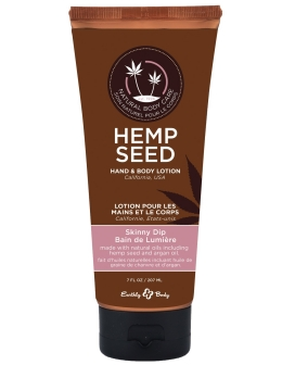 Earthly Body Velvet Lotion - 7 oz Tube Skinny Dip