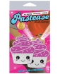 Pastease Cupcake White Glittery Frosting Nipple Pastie O/S