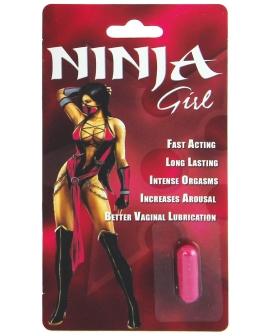 Ninja Girl Sexual Enhancer for Women - 1 Capsule Blister