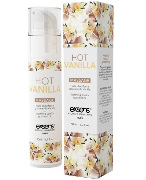 EXSENS of Paris  Massage Oil - Hot Vanilla
