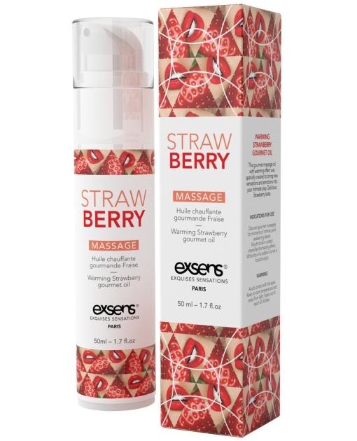 EXSENS of Paris Massage Oil - Strawberry