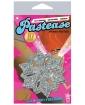 Pastease Glitter Snow Flake - Silver O/S