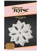 Pastease Glitter Snow Flake - White O/S