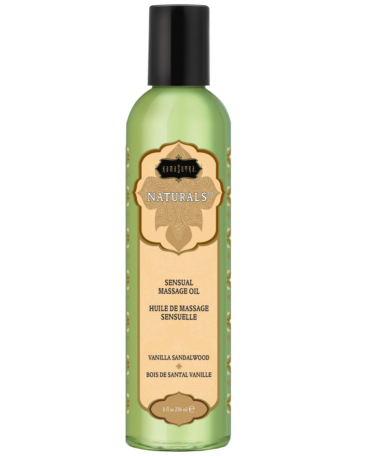 Kama Sutra Naturals Massage Oil - Vanilla Sandlewood