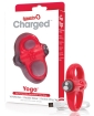 Screaming O Charged Yoga Vooom Mini Vibe - Red