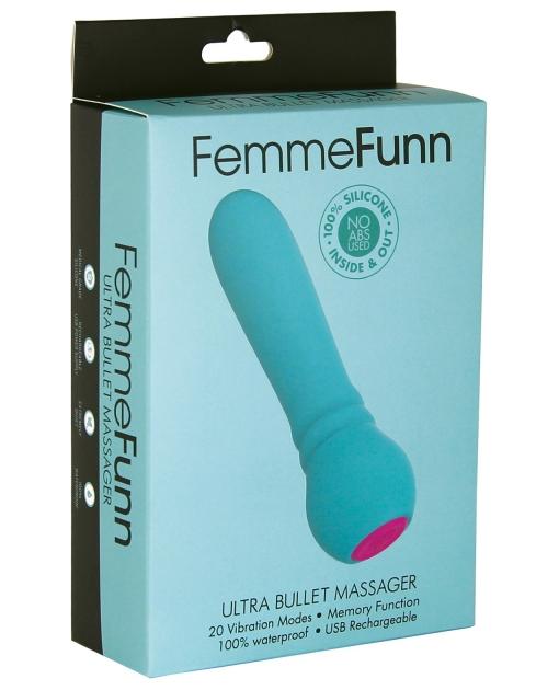 FemmeFunn Ultra Bullet - Turquoise