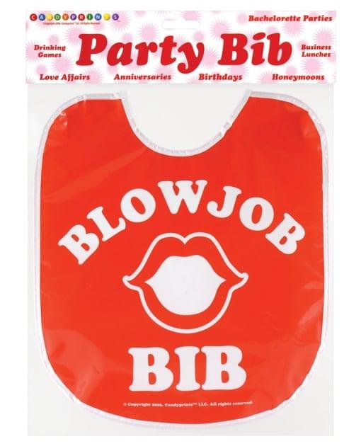 Blow Job Party Bib