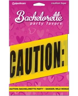 Bachelorette Party Favors Caution Party Tape