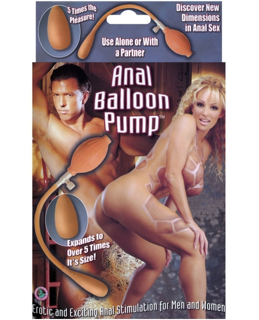 Anal Balloon Pump - Inflatable