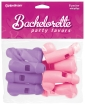 Bachelorette Party Favors Whistles - Pink & Purple Pack of 8