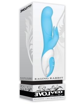 Evolved Raging Rabbit - Blue