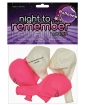 "Night to Remember 10"" Balloons w/Print - Pack of 5 by sassigirl"