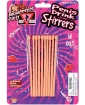Bachelorette Penis Drink Stirrers - Pack of 10