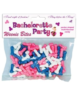 Bachelorette Party Weenie Bites Candy