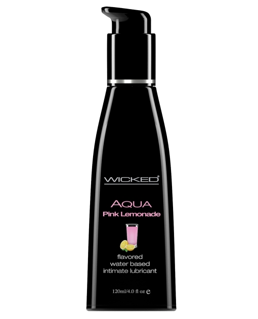 Wicked Sensual Care Waterbased Lubricant - 4 oz Pink Lemonade