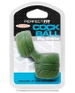 Perfect Fit SilaSkin Cock & Ball Ring - Green