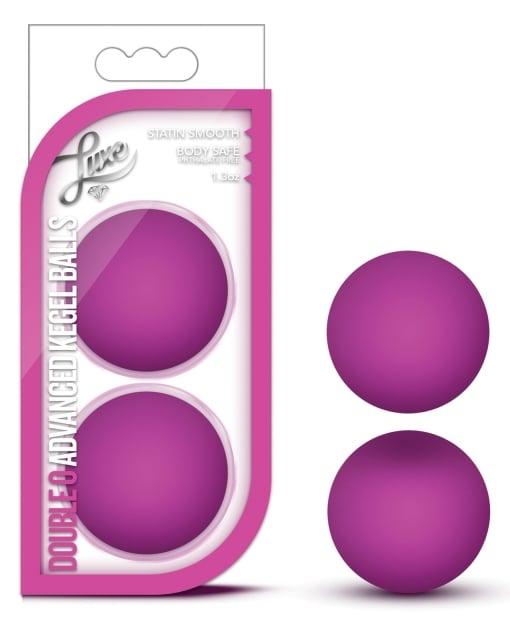 Blush Luxe Double O Advanced Kegel Balls - Pink