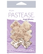 Pastease Color Changing Flip Sequins Cross - Rose Gold O/S