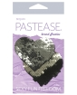 Pastease Color Changing Flip Sequins Heart - Slate/Black O/S
